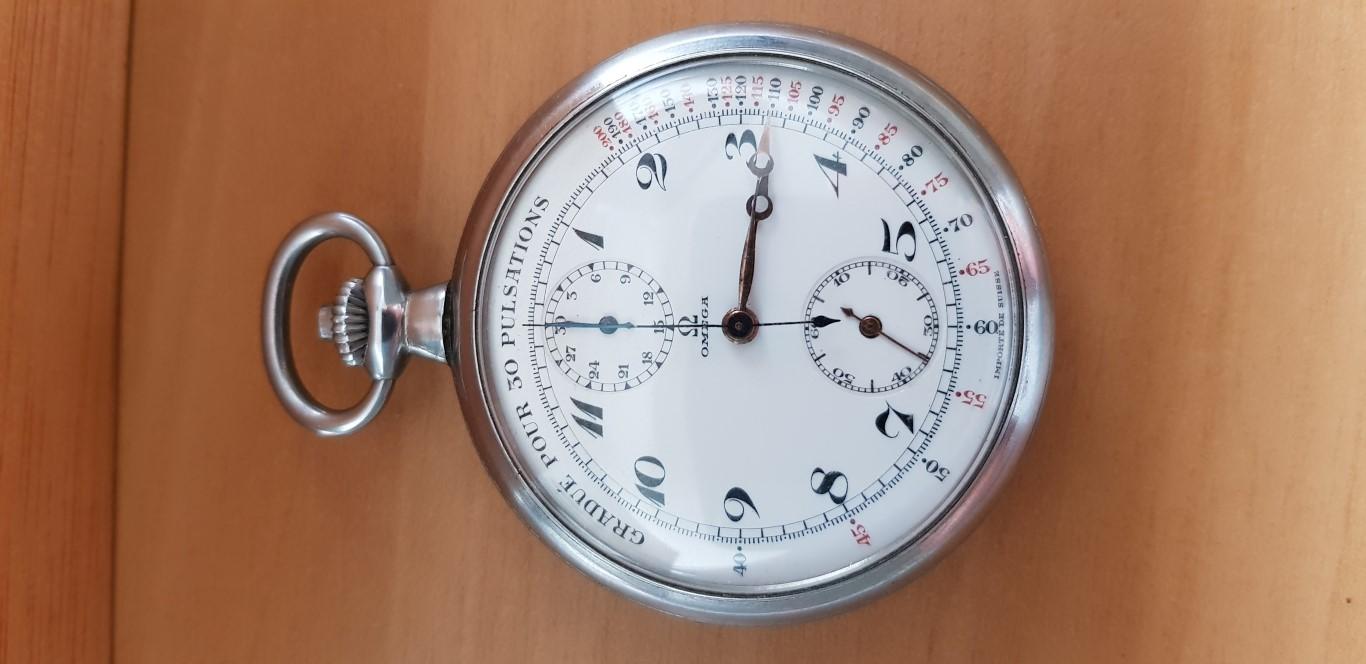 Sympathique chronographe de médecin OMEGA Omegachr1
