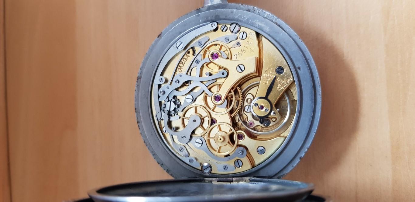 Sympathique chronographe de médecin OMEGA Omegachr3